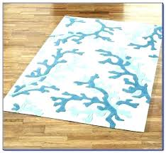 ocean themed area rugs beach brilliant runner