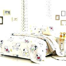 puppy bedding sets snoopy bed fascinating comforter set dog print twin duvet cover sports time baby
