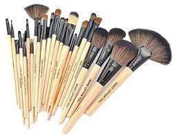 outop 24pcs professional cosmetic makeup brush set with bag best
