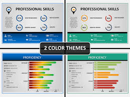 Powerpoint Resume Magnificent Professional Resume PowerPoint Template SketchBubble Resume Samples