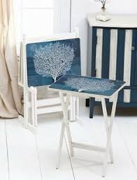 Decorative Tv Tray Tables Great Table Makeovers With A Coastal Theme Tv Trays Nightstands 3