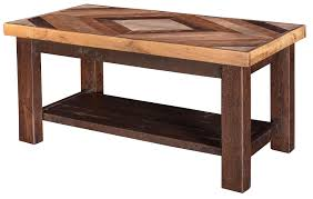 Pallet Wood Diamond Coffee Table
