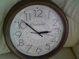 charnwood quartz wall clock used large