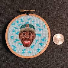 Cross Stitch Chart Generator Fo Tiny Portrait Of Tyler The Creator Crossstitch