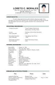 Teaching Job Resume Sample Resume Creator Simple Source