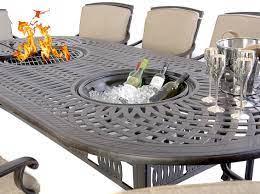 metal garden furniture aluminium