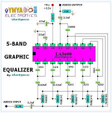 how to connect equalizer to amplifier diagram how 5 band graphic equalizer electronic circuit diagram circuit on how to connect equalizer to amplifier diagram