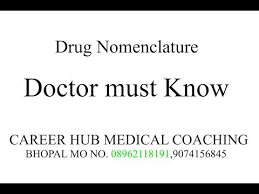 Videos Matching Drug Nomenclature Revolvy