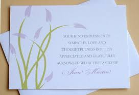 Thank You For Sympathy Card Thank You Letter For Condolence Message Letter Format Condolence