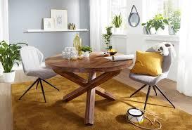 Designer Esstisch Rund Holz
