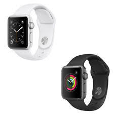 apple watch series 2 38mm. apple watch series 2 38mm (aluminum case, black or white sports band)