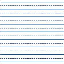 Writing Lines For Kindergarten Writing Lines Clipart