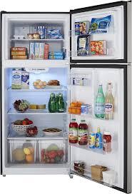 refrigerator racks. ft. top-freezer refrigerator silver ns-rtm18ss7 - best buy racks s