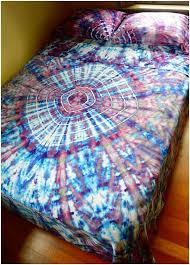 tie dye duvet cover diy