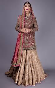 Lehenga Design 2018 Pakistani Fahad Hussayn Bridal Dresses 2019 Pk Vogue Bridal