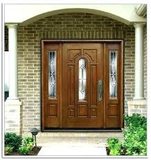 stained glass panels for front doors swinging entry with door 3 wooden decorative unique exterior panel