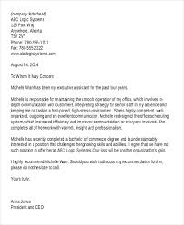 To Whom It May Concern Reference Letter Letters Font