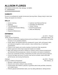 Stagehand Resume Samples Best Of Stagehand Resume Twnctry