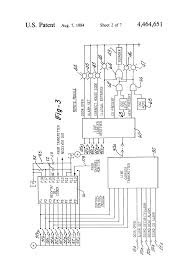 patent us4464651 home security and garage door operator system patent drawing