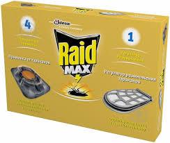 ᐉ <b>Приманка</b> для <b>тараканов Raid</b> MAX c регулятором ...