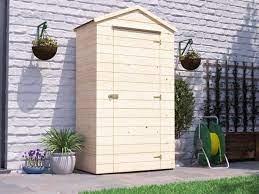 talia heavy duty garden tool shed w1 2m