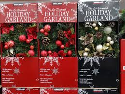 Lighted Decorated Garland Kirkland Signature Pre Lit Decorated Holiday Garland