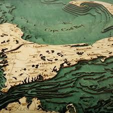 Cape Cod Wood Chart Cape Cod Large