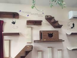 wall mounted cat furniture. Wall Mounted Cat Climber Climbing Furniture