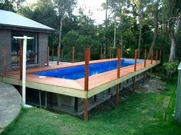 rectangle above ground swimming pool. Rectangular Above Ground Pool Pools With Wooden Decks Swimming . Rectangle