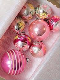 In the Pink! Pink Christmas Decorations  Pink Christmas Ornaments