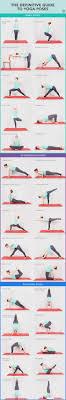 Basic Yoga Poses Chart Basic Yoga Poses 30 Common Yoga Moves And How To Master Them