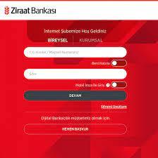 Ziraat Bankası İnternet Bankacılığı Kayıt Açma ve Şifre Alma - Kosgeb  Destekleri