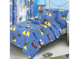 junior cot bed size treasure island duvet quilt cover bedding set sailor captain whale message bottle