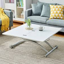4 in 1 lift up coffee table dining