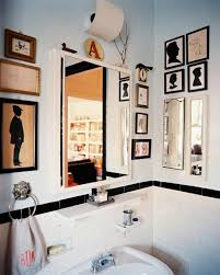 eclectic bathroom accessories. eclectic chic bathroom with artwork accessories e