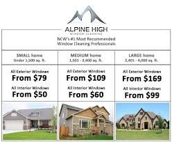 Residential Window Cleaning Alpine High Window Cleaning