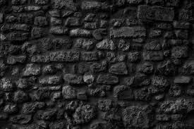 black stone wall texture. Stone Wall Texture Stock Photo Black A