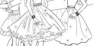 Small Picture Barbie Fashion Fairytale Coloring Pages Games Coloring Pages