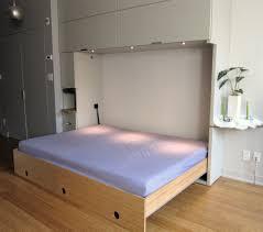 cozy murphy bed queen