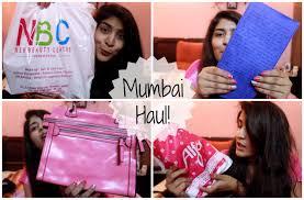mumbai haul sjfam gifts makeup and more