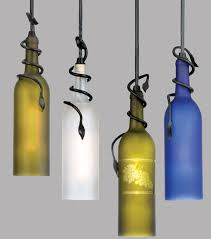 ... Brilliant wine bottle pendant lights