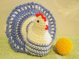 Crochet Chicken Pattern Custom Design