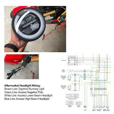 aftermarket headlight led wiring for sf H4 Halogen Headlight Wiring Diagram Headlight Wiring Harness Replacement