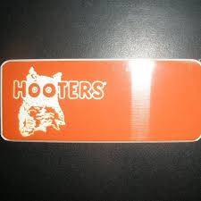 New Hooters Girl Uniform Blank Name Tag Engrave It