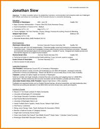Template Internship Sample Resume Template No Experience Malaysia Cv