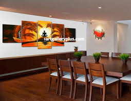 dining room canvas art. Manificent Decoration Dining Room Canvas Art 5 Piece Photography Abstract Wall Yoga Oil Painting T