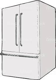 大型シングル閉冷蔵庫 Genericのベクターアート素材や画像を多数ご用意