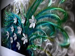 fl art metal wall sculpture abstract home decor painting metal modern wall art original art design by alex kovacs ak432