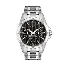 stainless steel watch 96c107 men bulova stainless steel watch 96c107 men