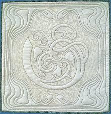 Mini whole cloth Art Nouveau design by Anita Shackelford. The ... & Mini whole cloth Art Nouveau design by Anita Shackelford. The digitized  design is available on Adamdwight.com